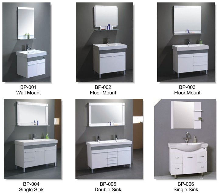 Real Home Bathroom PVC Vanities