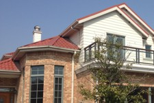 Real Home Quality Prefabricated Exterior Gutters