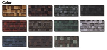 Real Home Quality Asphalt Shingles Colors